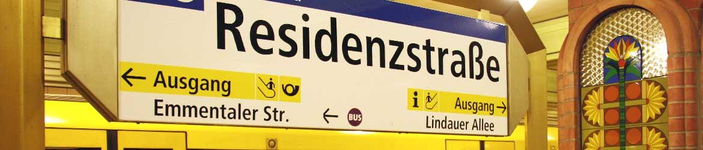 Residenzstraße, Berlin, Reinickendorf