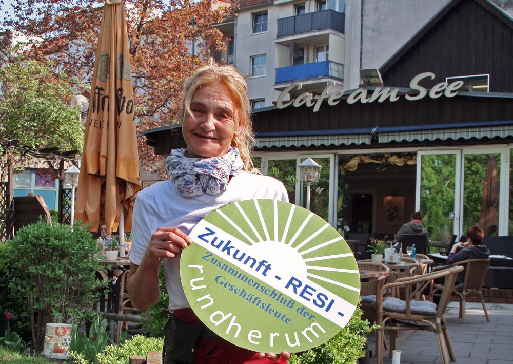 Silvia Cetin, Cafe am See