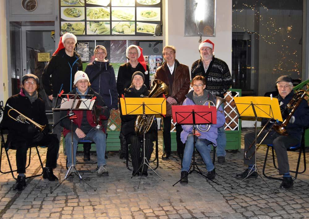 Weihnachten 2018: Konzert am Franz-Neumann-Platz