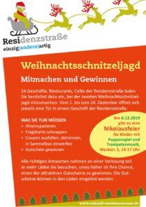 Weihnachtsschnitzeljagd Residenzstraße, Berlin-Reinickendorf